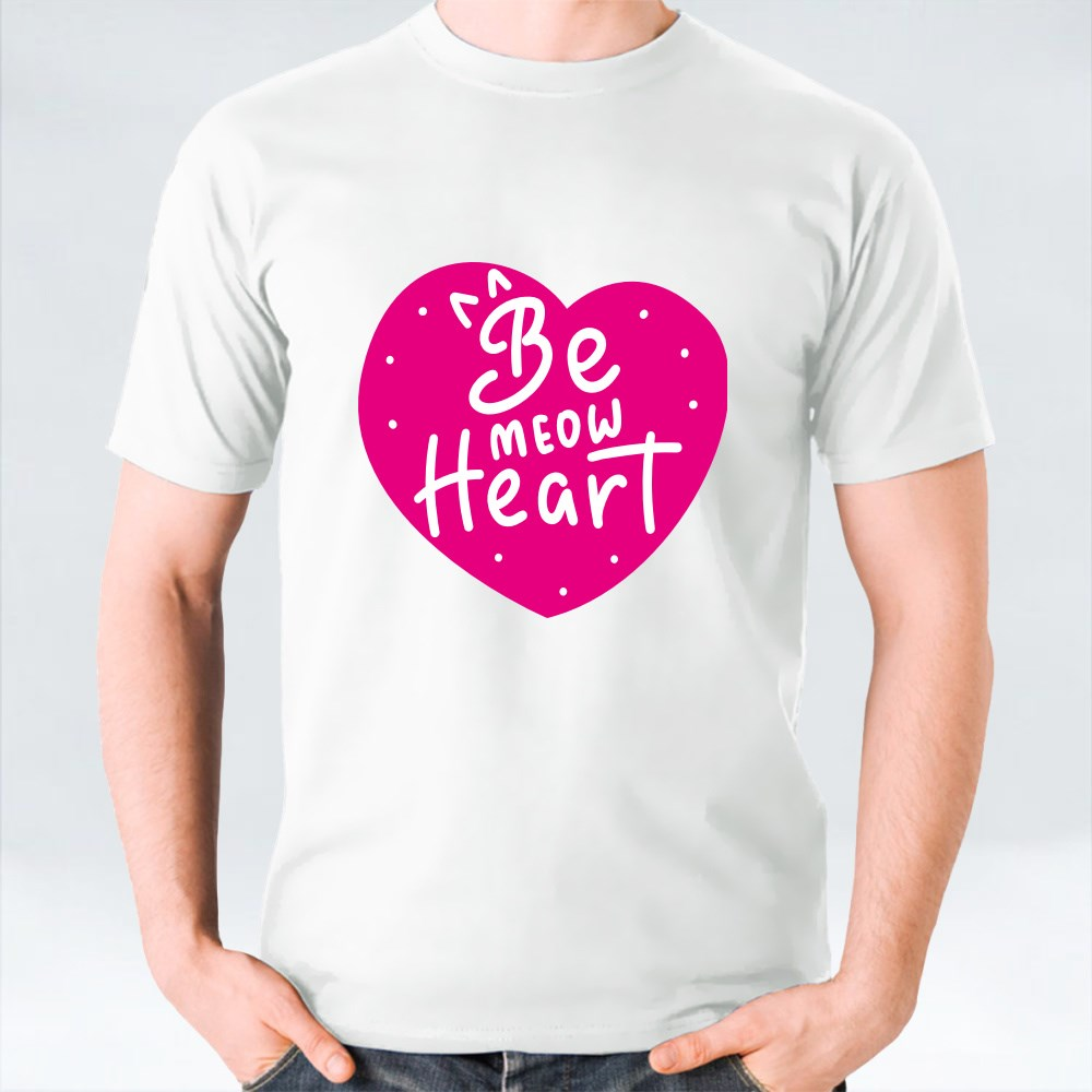 Be Meow Heart تي شيرت
