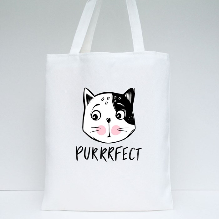 Purrrfect Tote Bags