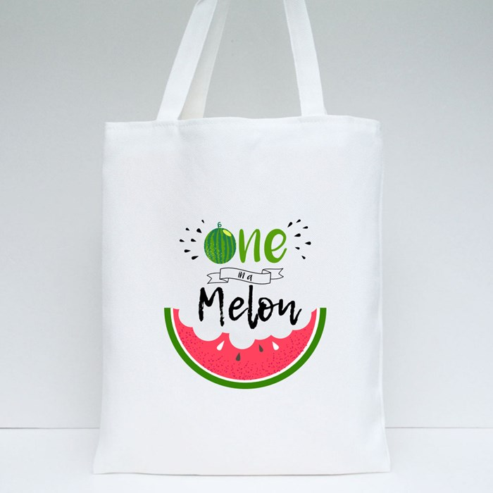 One in a Melon Tote Bags