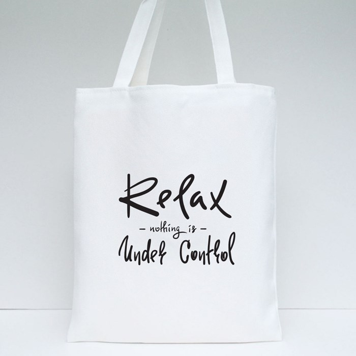 Simple Inspire and Motivational Quote Tote Bags