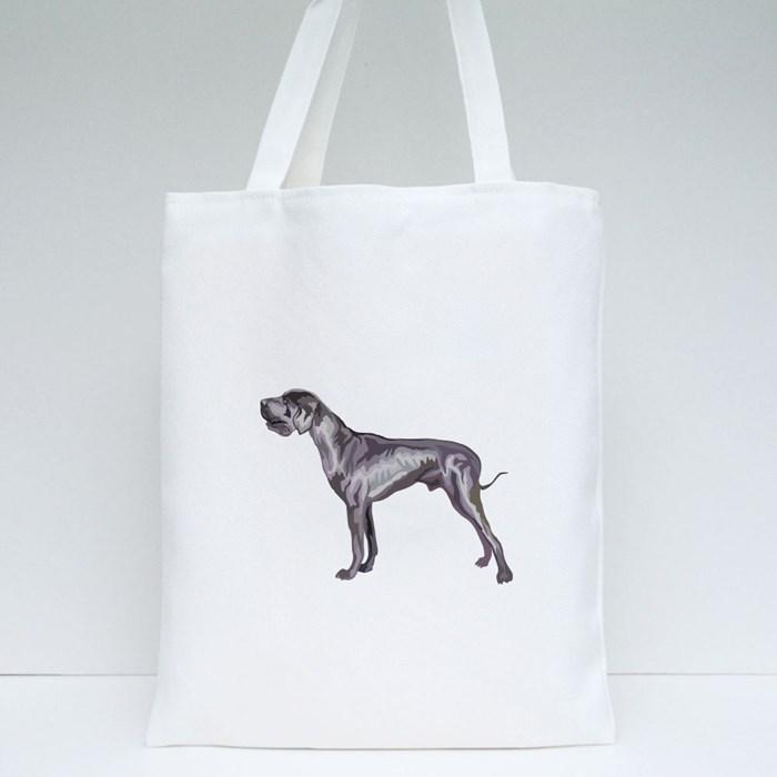Potrait of Great Dane Tote Bags
