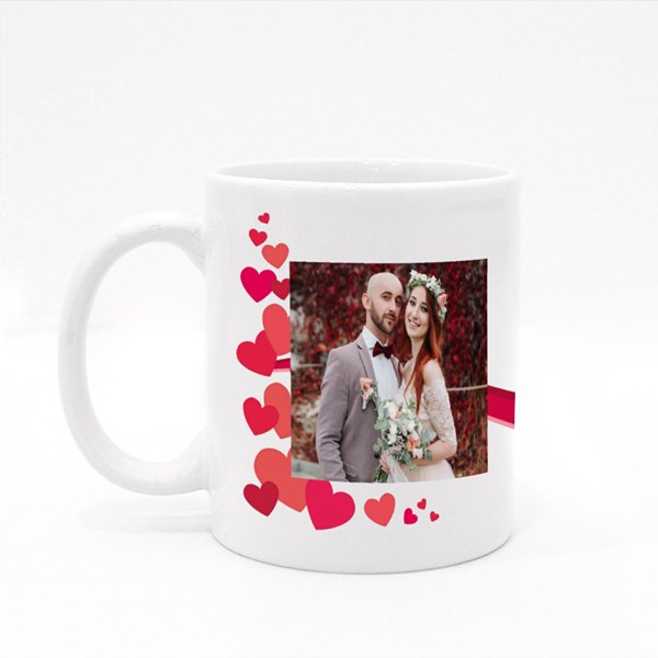 Custom With Love Colour Mugs