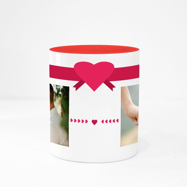Love Twin Custom Photo Colour Mugs