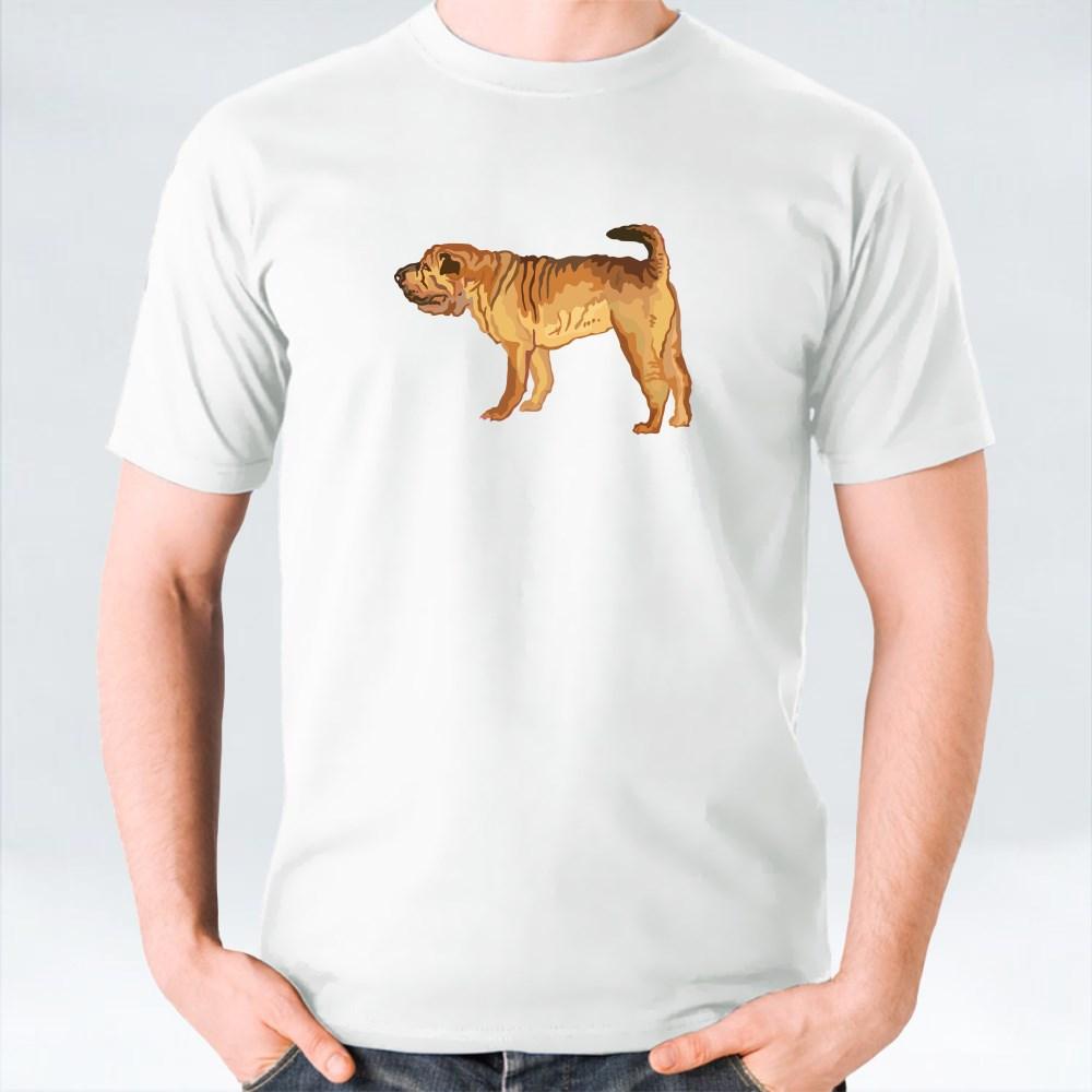 Potrait Of Shar Pei T-Shirts