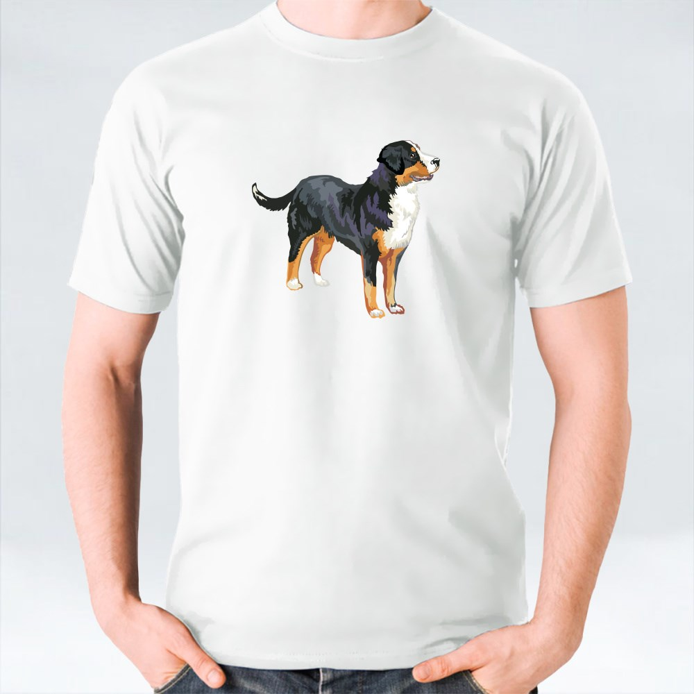 Potrait Of Greater Swiss Mountain Dog T-Shirts