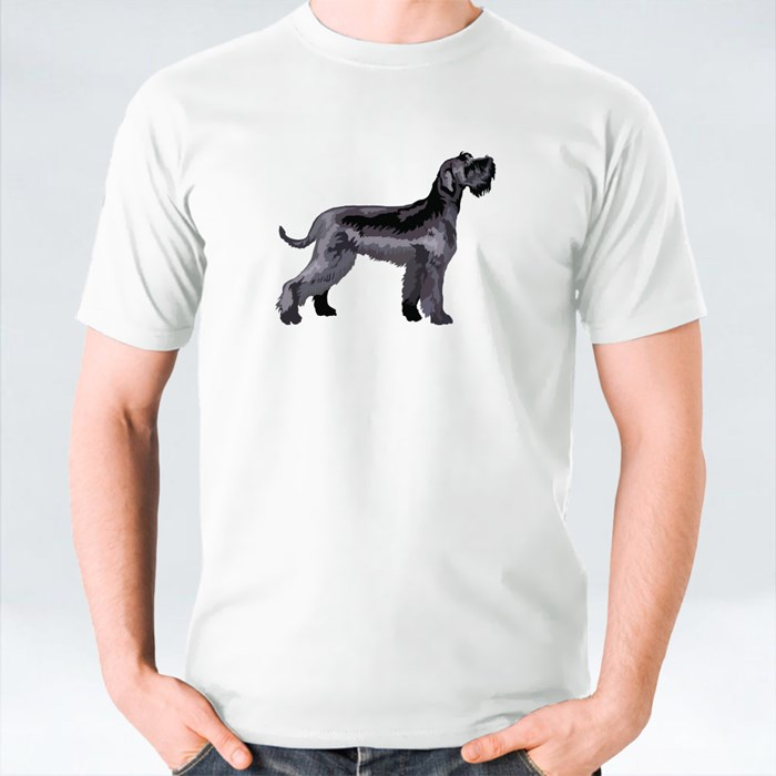 Potrait of Giant Schnauzer T-Shirts