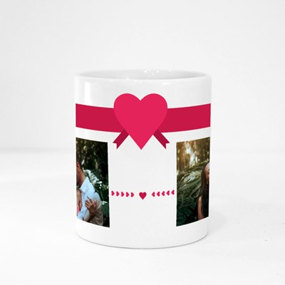 Love Twin Custom Photo Magic Mugs