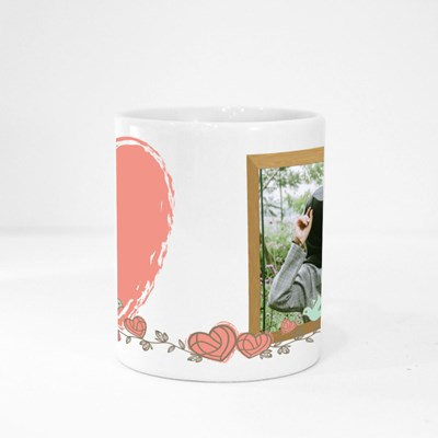 Love Custom Photo Magic Mugs