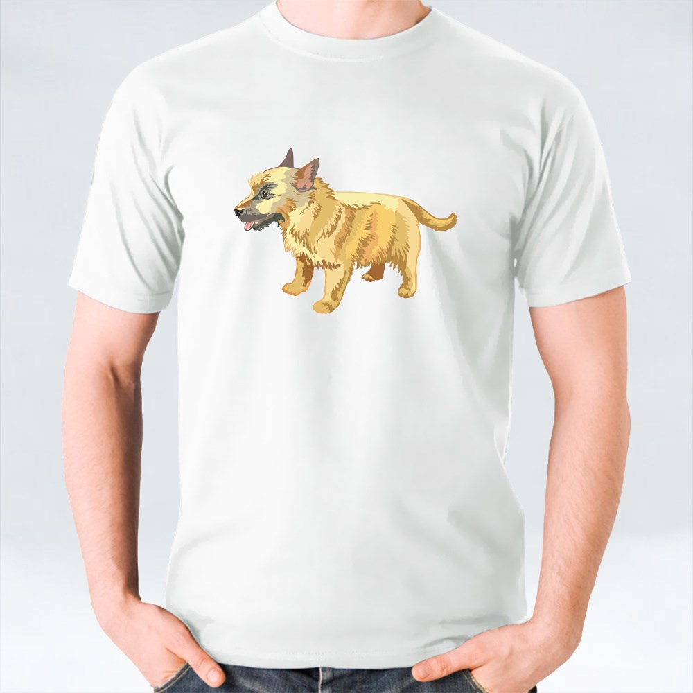 Potrait Of Norwich Terrier T-Shirts