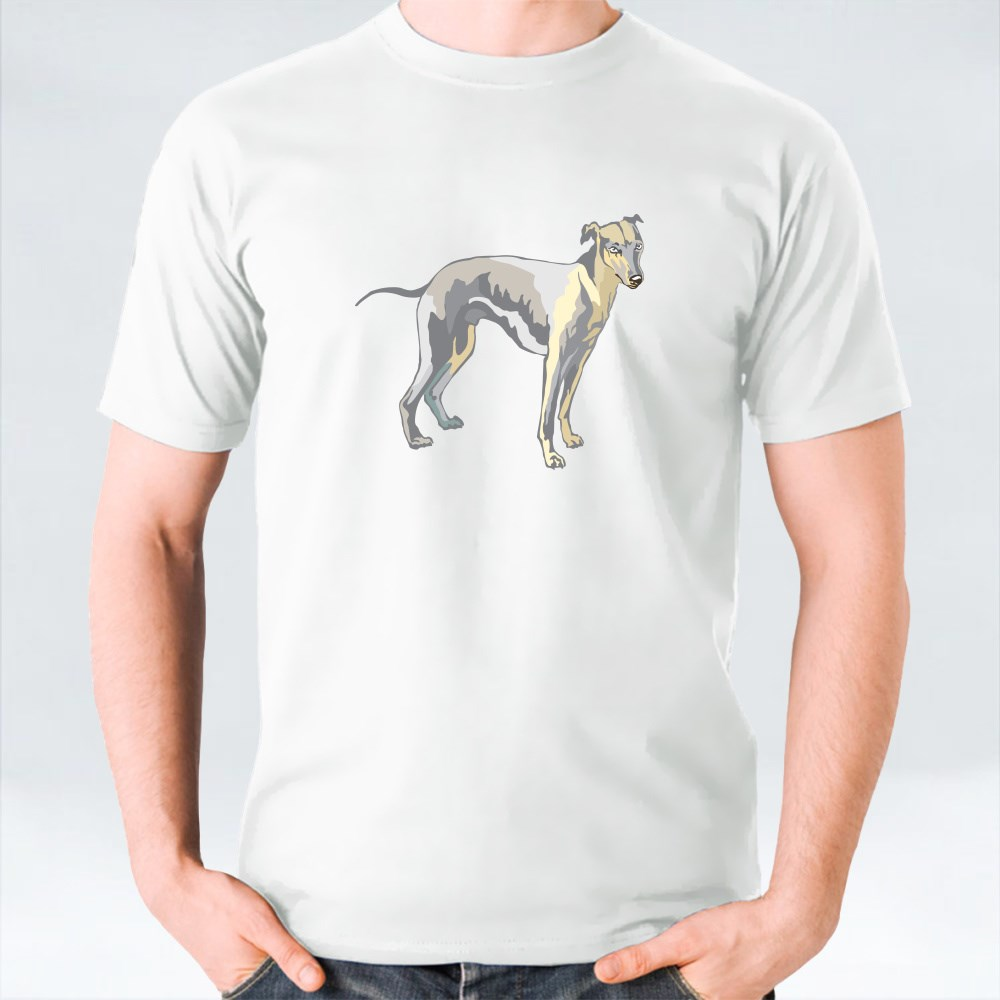 Potrait Of Whippet T-Shirts