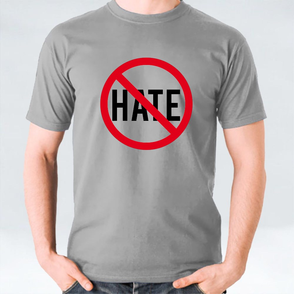 No Hate Speech Signs 1 T-Shirts