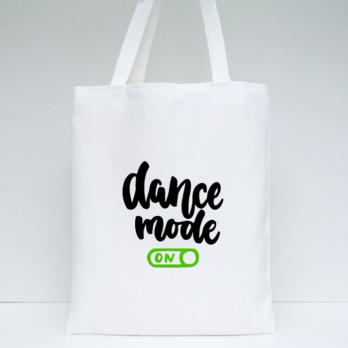 Dance Mode On Tote Bags