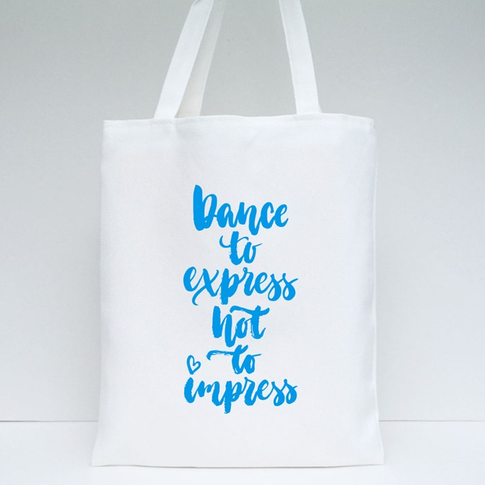 Dance to Xpress Tote Bags