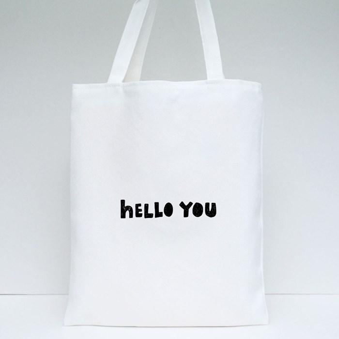 Hello U Tote Bags