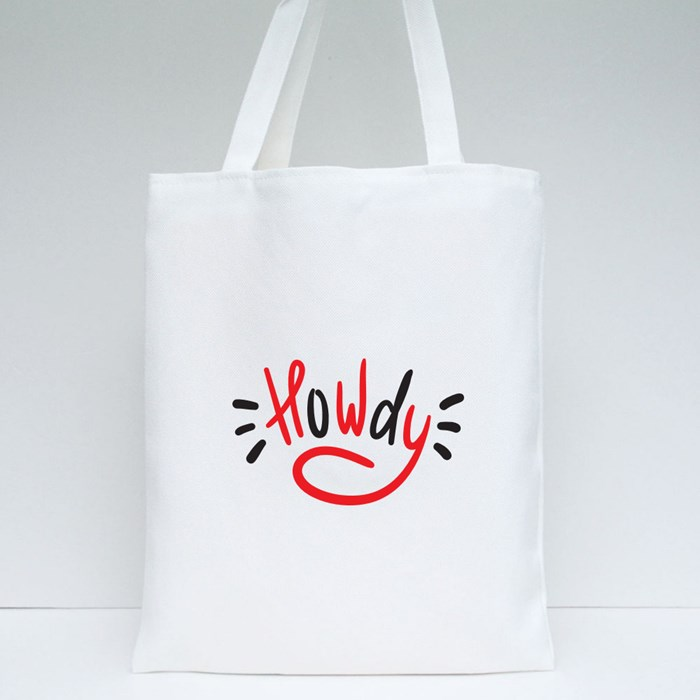 Howdy Tote Bags