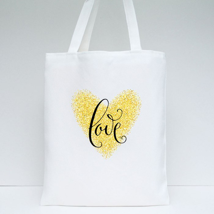 Love Heart Tote Bags
