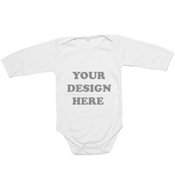 Basic Long Sleeve Baby Rompers