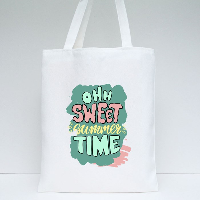 Oh Sweet Time Summer Tote Bags