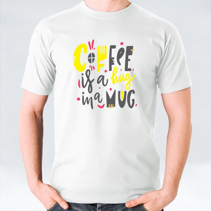 Quotes Coffee Typography Collection Set 4 T-Shirts
