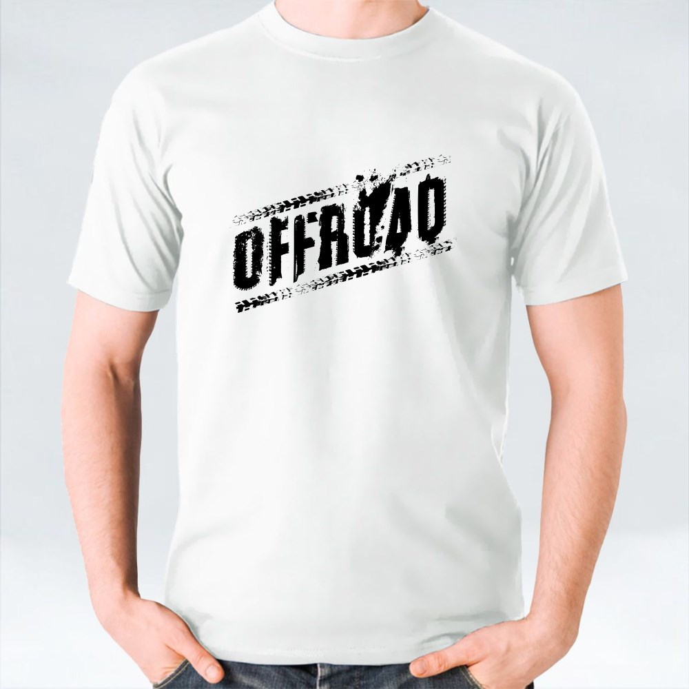 Offroad Grunge Tyre Lettering T-Shirts