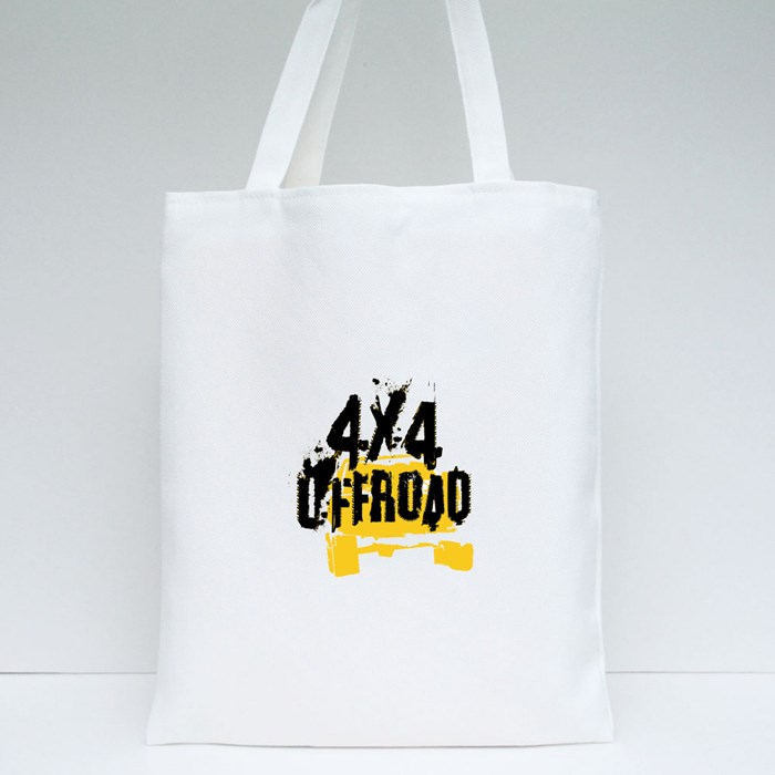 4X4 Offroad Vintage Poster Style Tote Bags