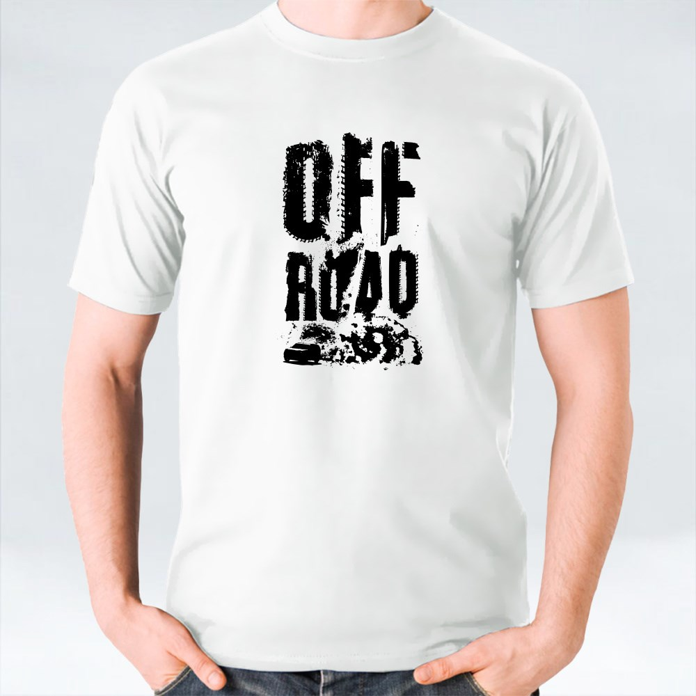 Off Road Letters T-Shirts