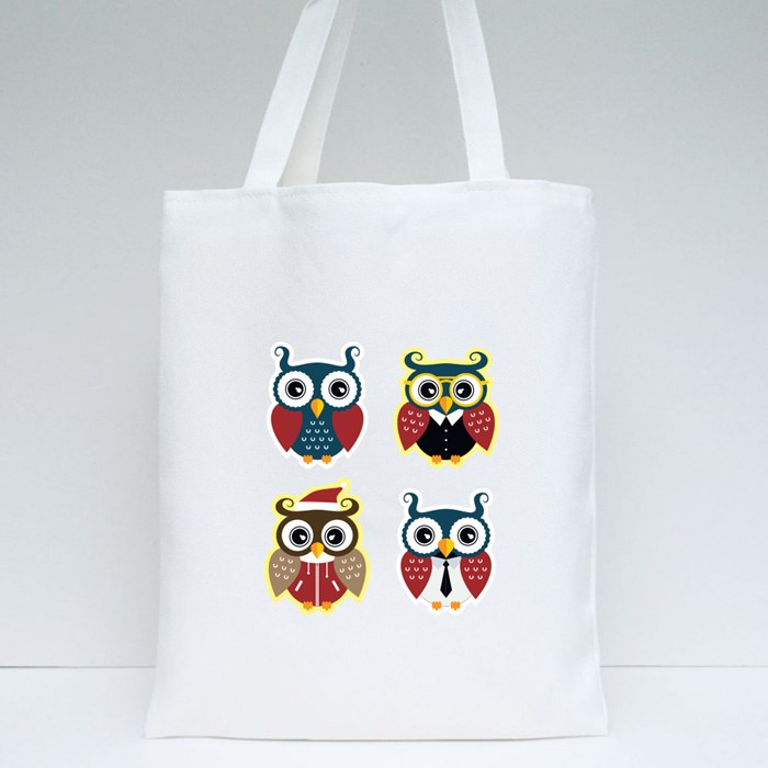 Cool Owls Tote Bags