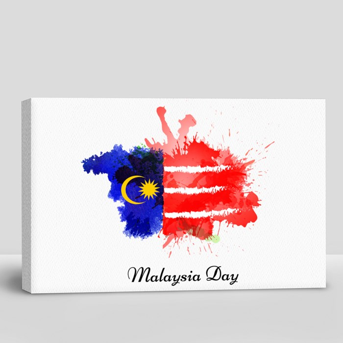 Malaysia in Dependence Day Canvas (Landscape)