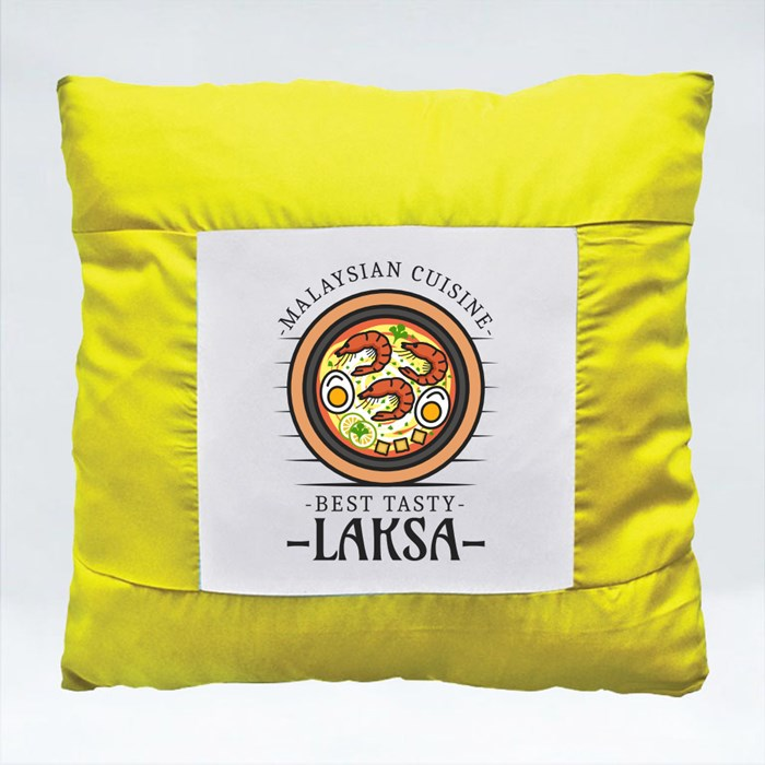 National Food Logo 5 Cushions (Square)