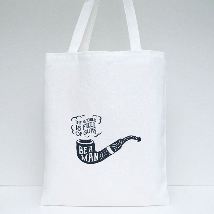Tobacco Pipe Tote Bags