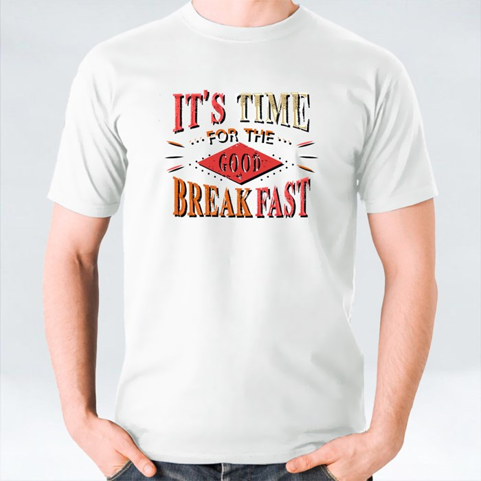 It's Time for the Good Breakfast T-Shirts