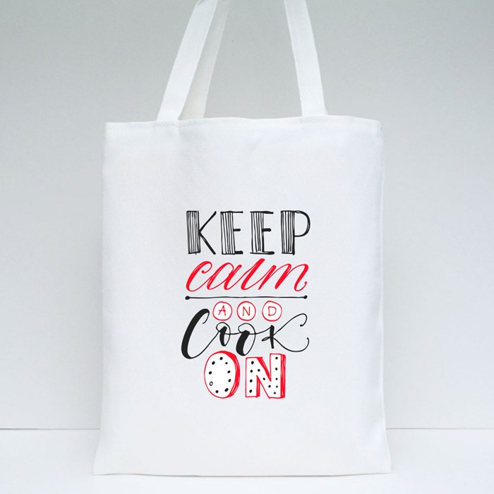 Keep Calm and Cook On Tote Bags