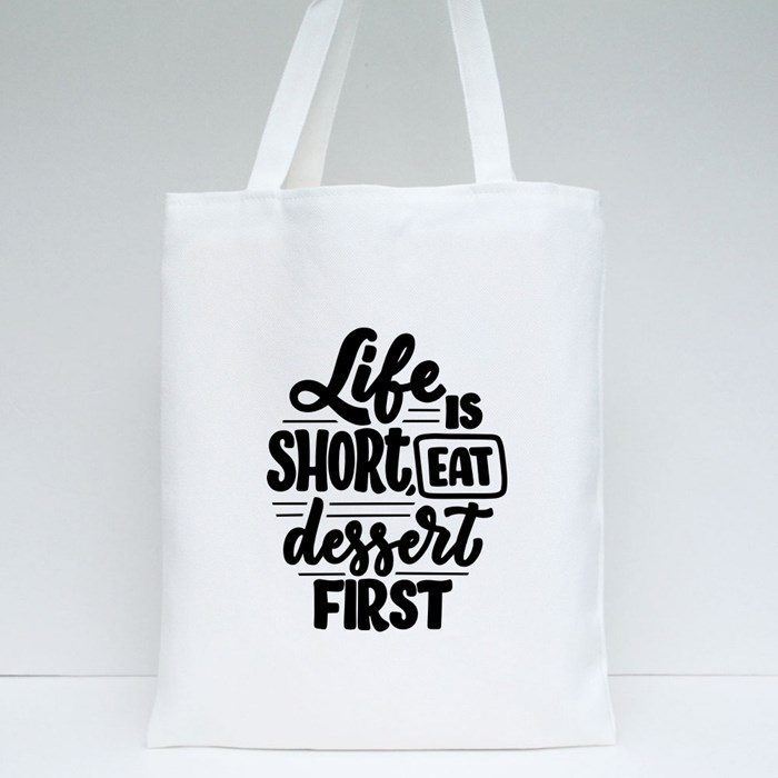 Inspirational Quotes for Baking 3 Tote Bags