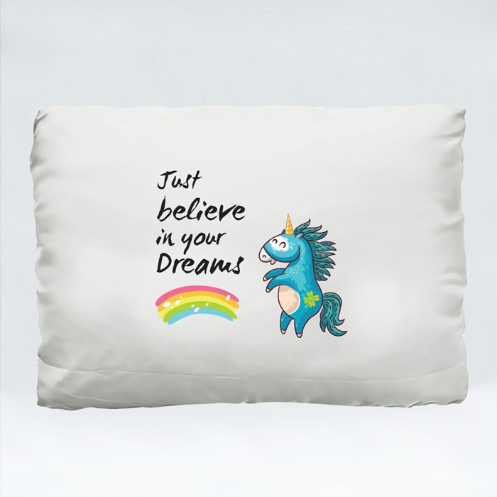 Unicorn Believe in Your Dreams Cushions (Rectangle)
