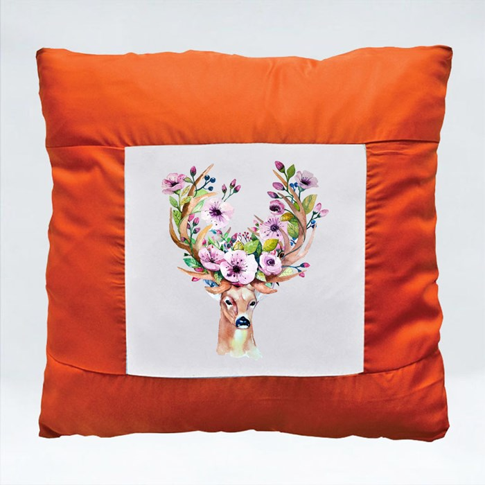 Watercolor Floral Cushions (Square)
