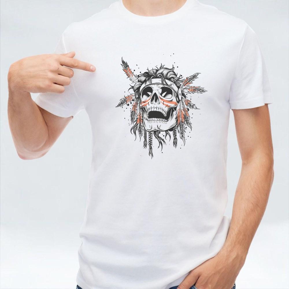 Indian Skull T-Shirts