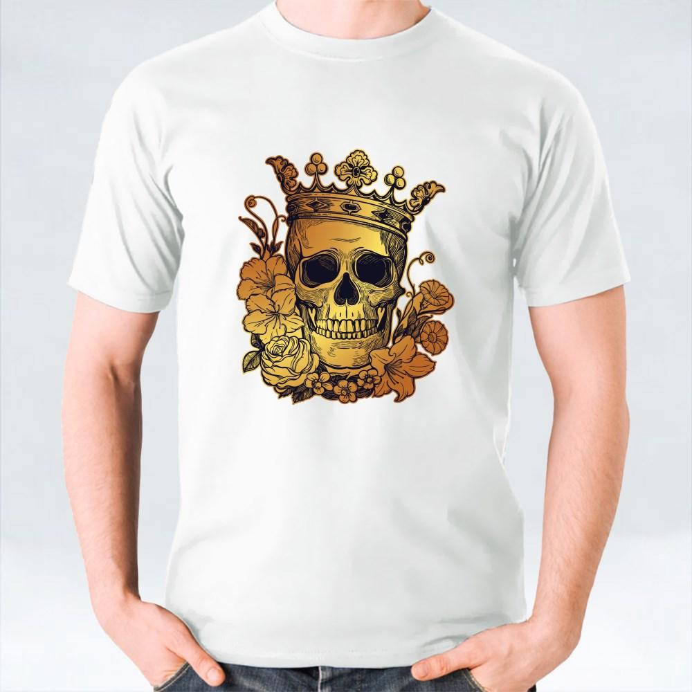 Beautiful Romantic Skull T-Shirts