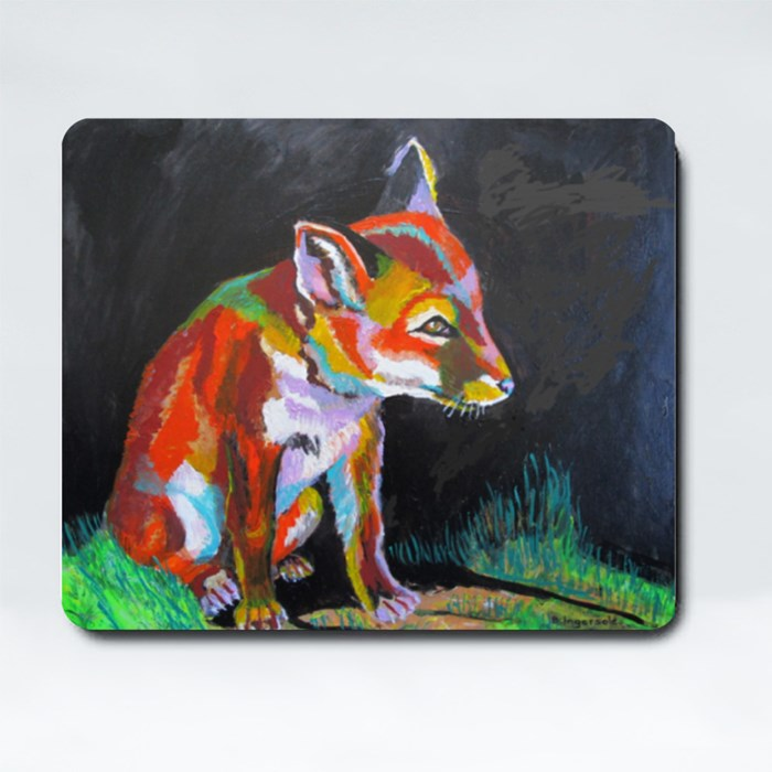 Fox Cub Mousepads (Rectangle)