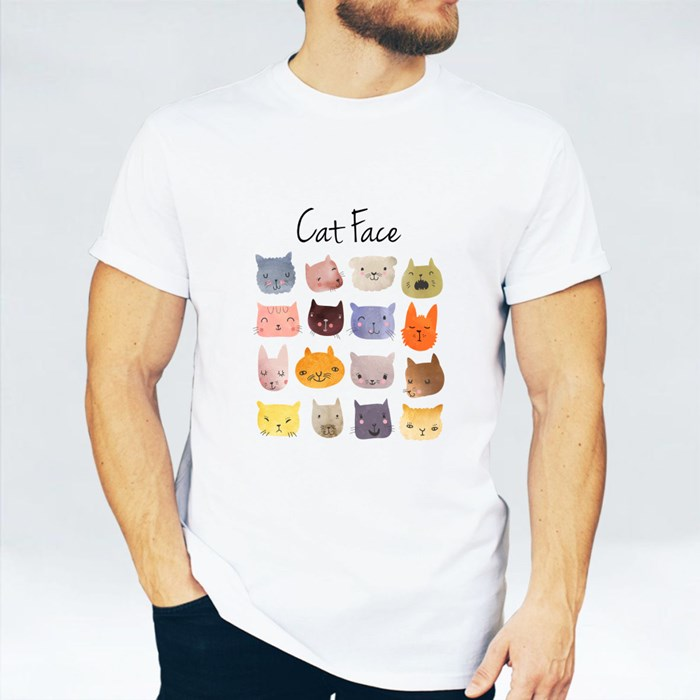 Watercolor Cats and Friend T-Shirts