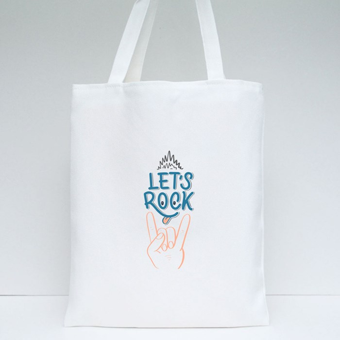 Set With Inspirational Quotes About Music 2 Tote Bags