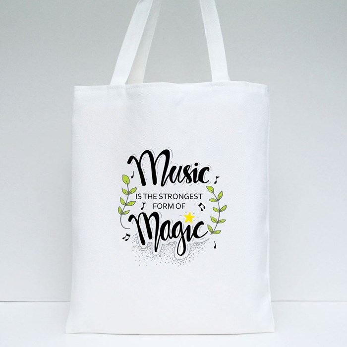 Music Is the Strongest Form of Magic Tote Bags
