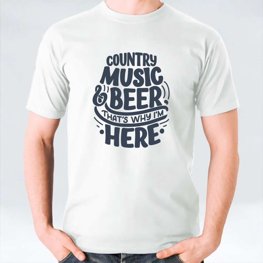 Set With Country Music Lettering Quote 1 Kaos