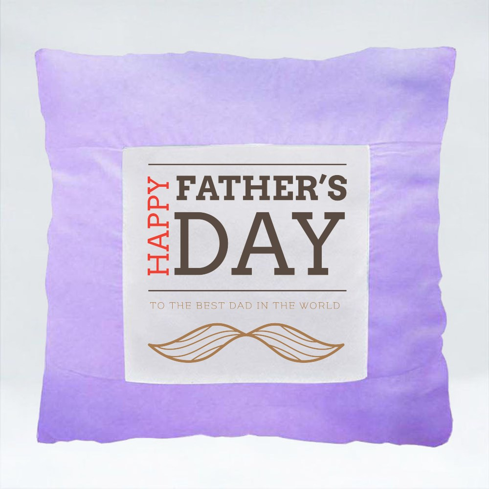 Cushions > Cushions (Square) > Happy Father's Day
