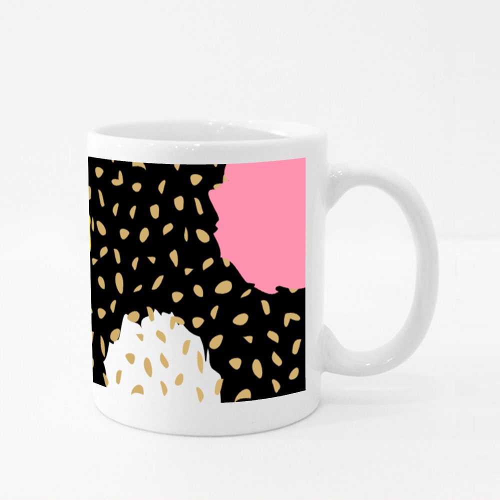 Trendy Colorful Pattern 8 Colour Mugs