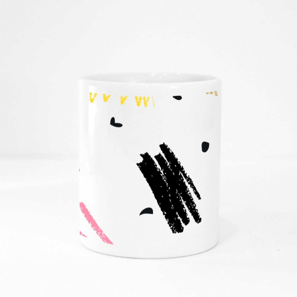Trendy Colorful Pattern 7 Colour Mugs