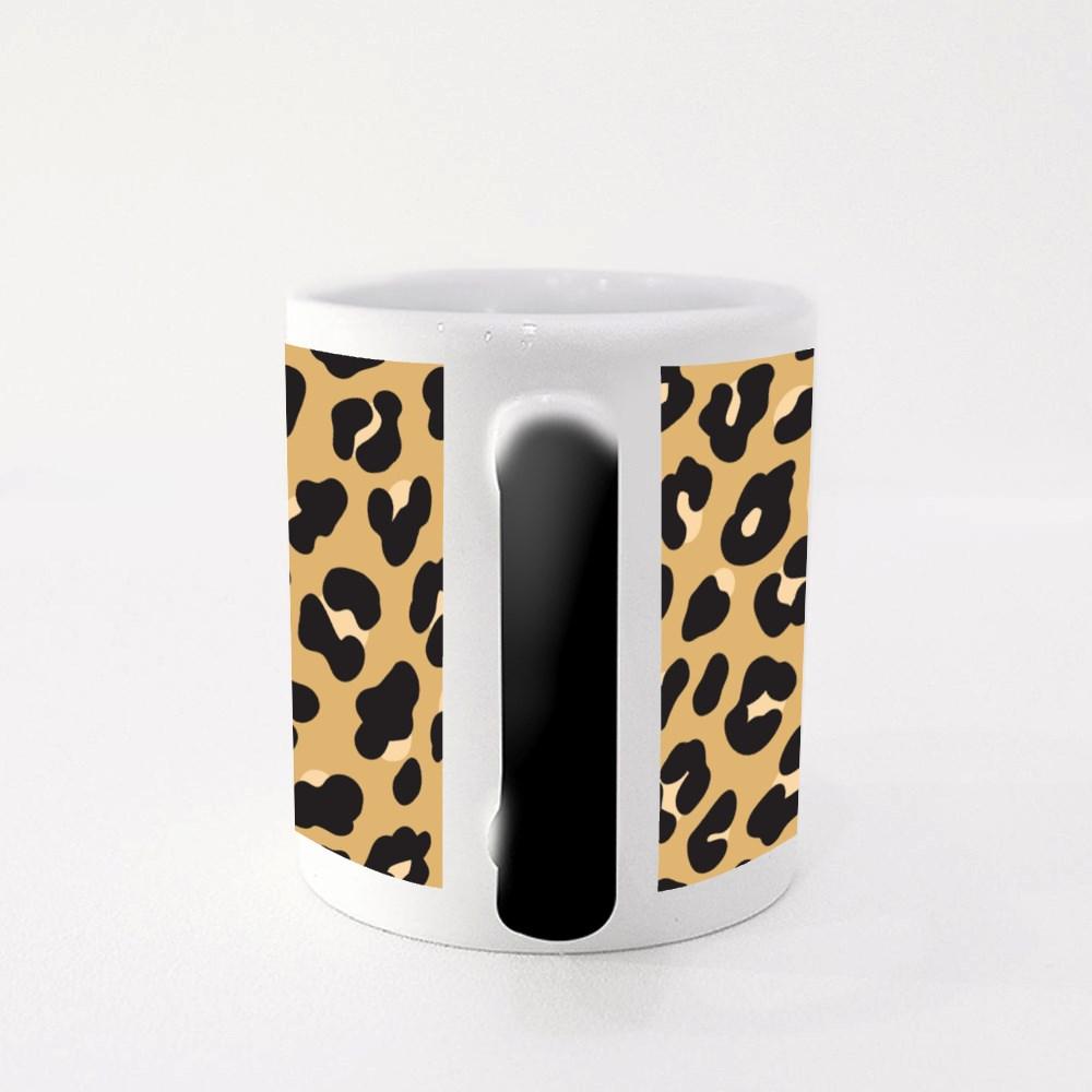 Leopard Print Magic Mugs