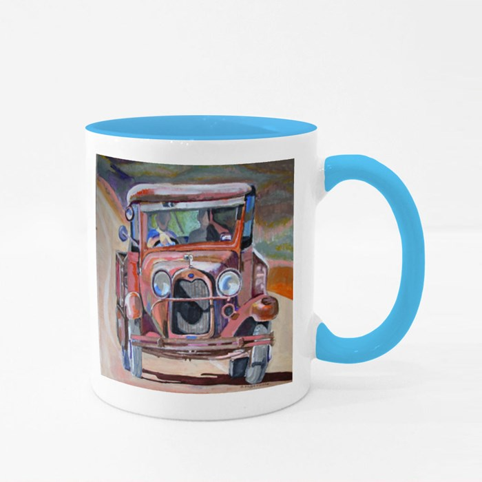 Old Ford Pickup. Colour Mugs