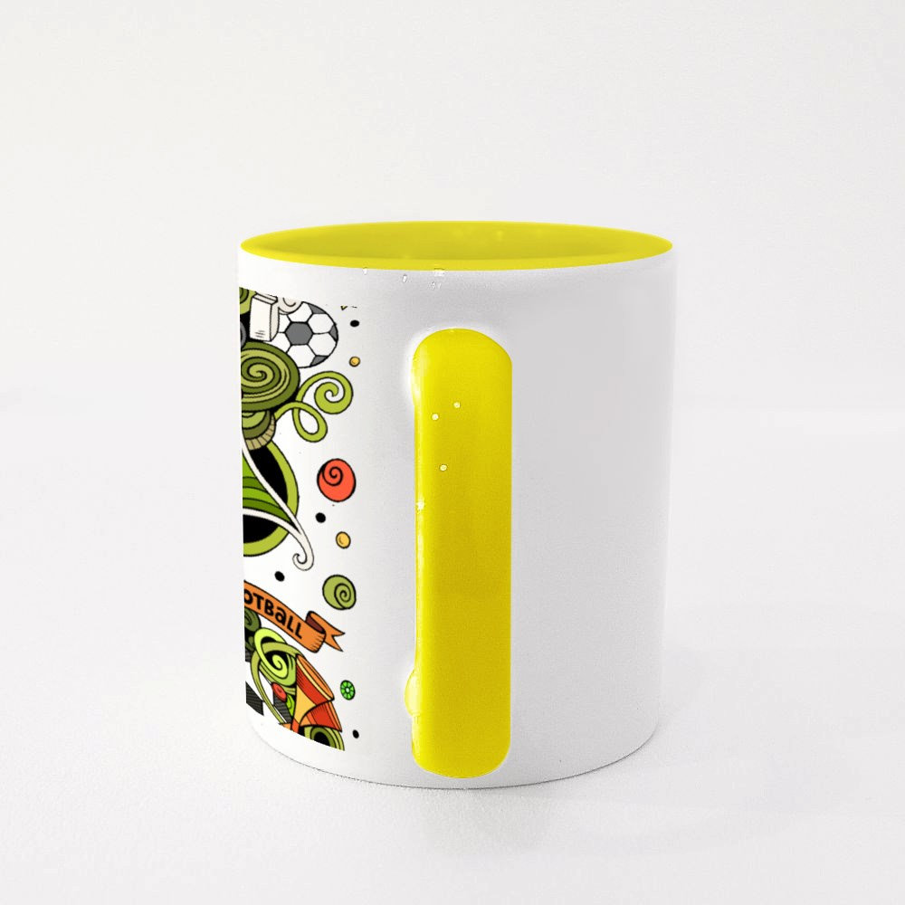 Football Combinations of Objects Colour Mugs