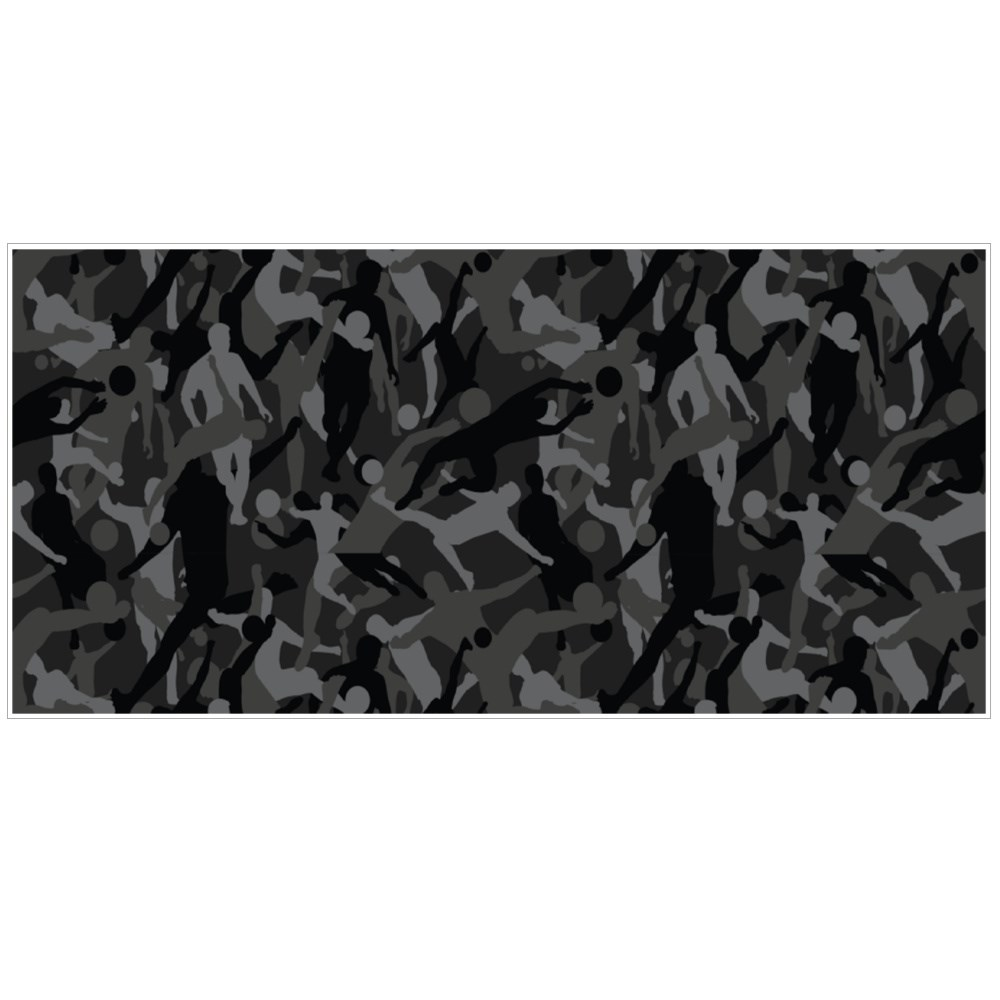 Background of Seamless Soldier Woodland Gray Soccer Camo Magic Mugs