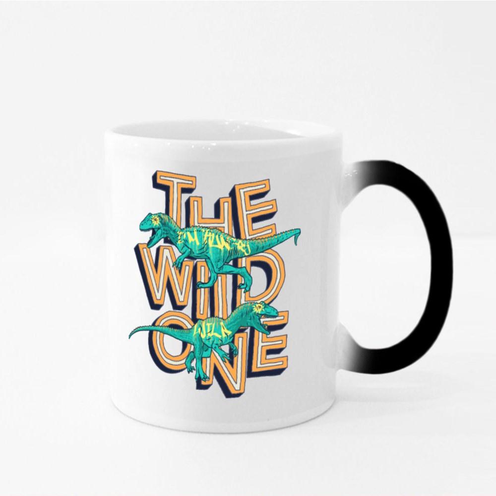 Dinosaur The Wild One Magic Mugs
